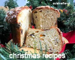 Christmas cooking and baking recipes