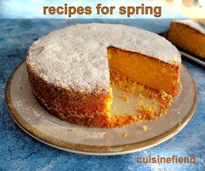 Spring cooking and baking recipes