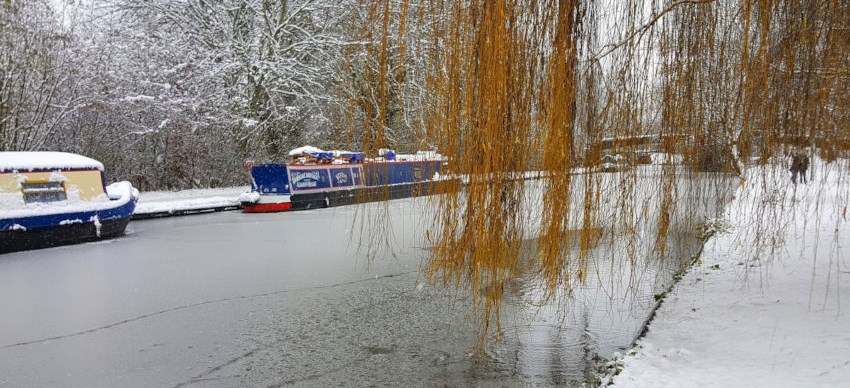 Grand Union canal in Berkhamsted, February 2018