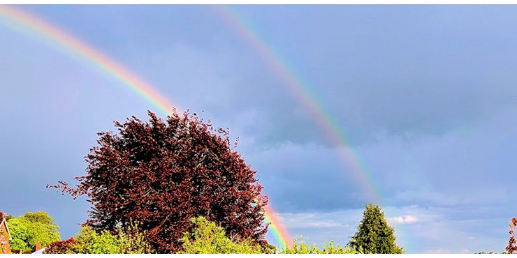 Rainbow over Berkhamsted