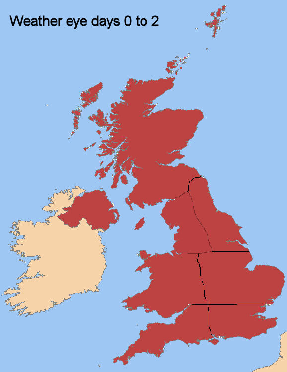 UK map red