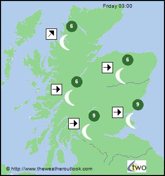 7 Day Forecast Charts For Scotland