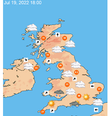 UK 7 day weather forecast maps at a glance - TheWeatherOutlook Show Me A Map Of The Weather on show me a rainbow, explain a weather map, show me a cold front, show me a dictionary, show me a hurricane, show me a elevation, show me a climate,