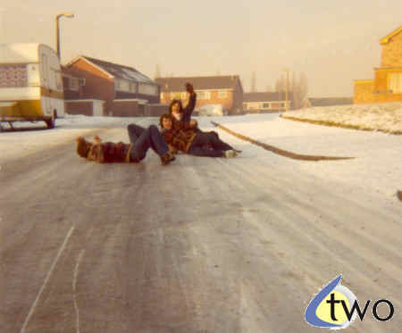 Sliding on snow and ice, winter 1978/79