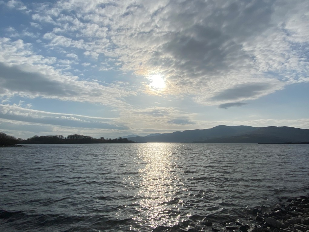 Trawsfynydd lake Trawsfyndd, Wales,, sent by DAllison