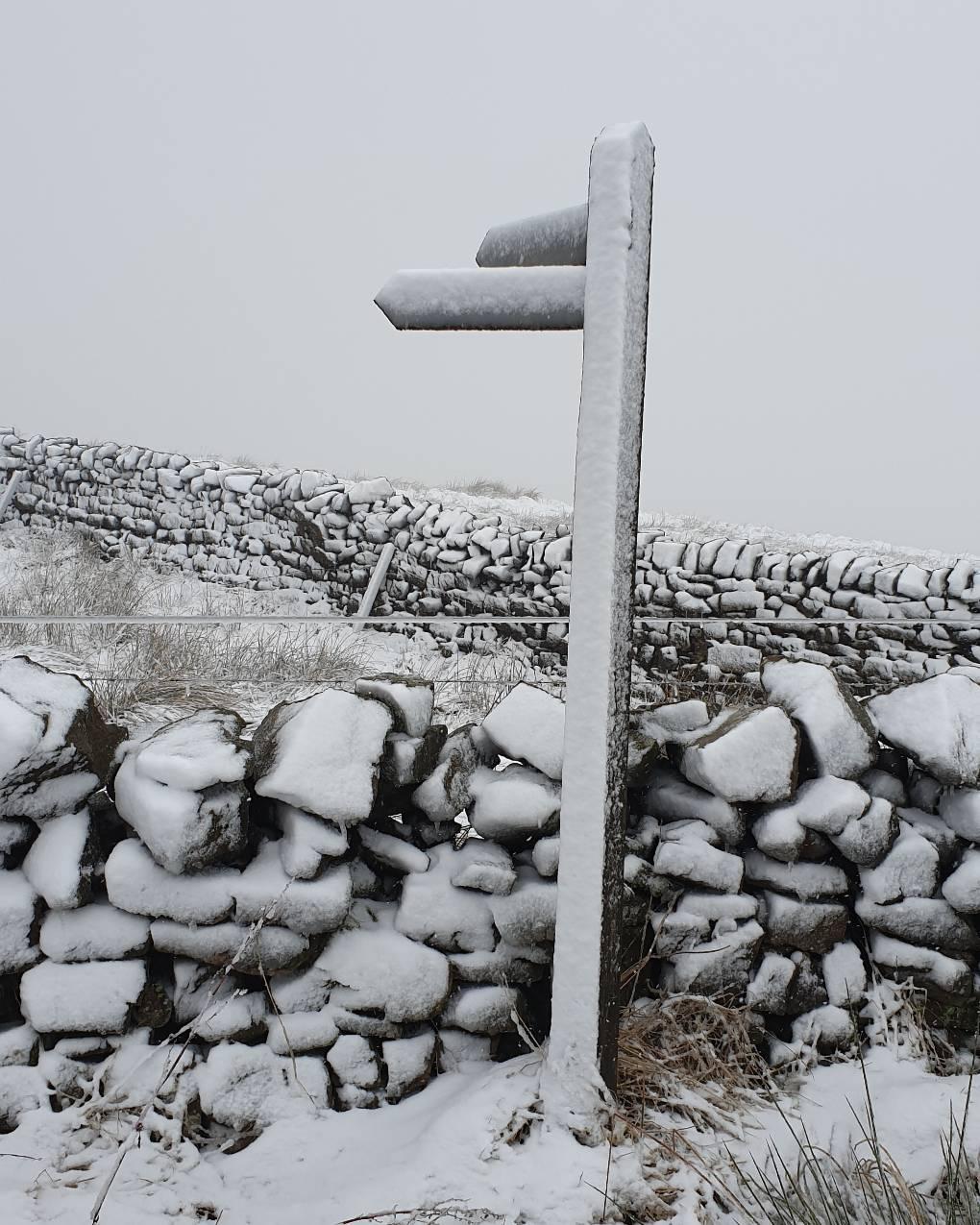 Snow Hallbankgate, Cumbria,United Kingdom, sent by Cumbrian Snowman