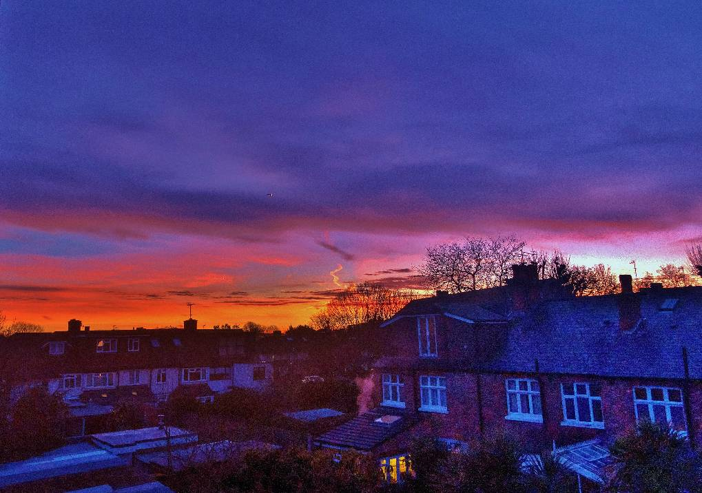 14/02/20 at 06:50 sunrise Richmond, London,UK, sent by lanky