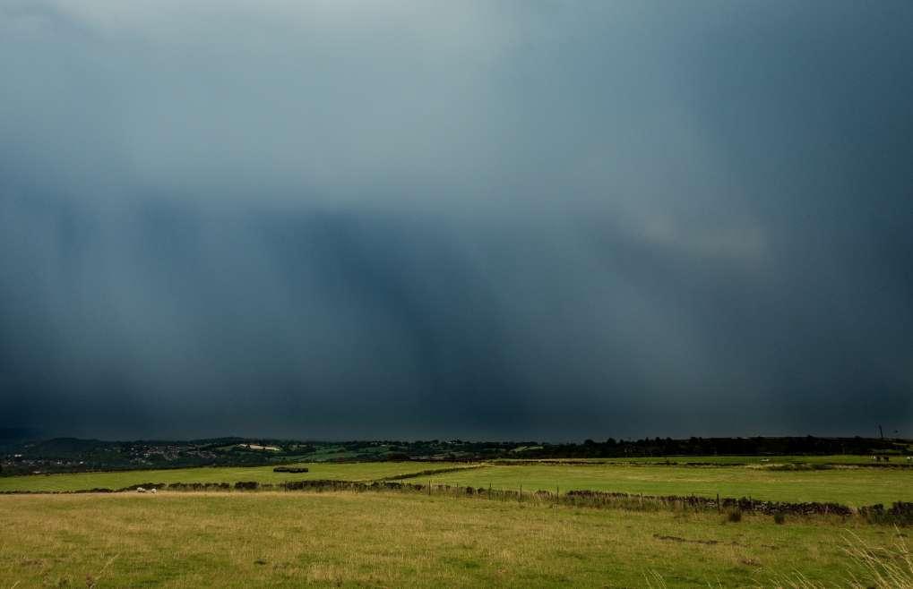 Thunderstorm over Sheffield Sheffield, ,United Kingdom, sent by SJV