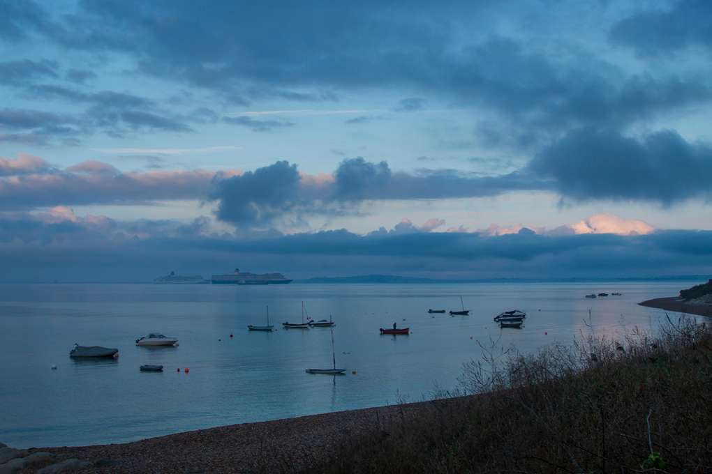 The Calm before the Storm - Ringstead Bay Weymouth, Dorset,UK, sent by NMA