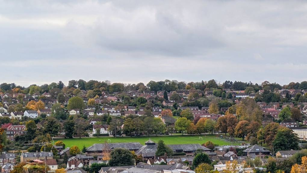 Autumnal colours Berkhamsted, Herts,, sent by brian gaze