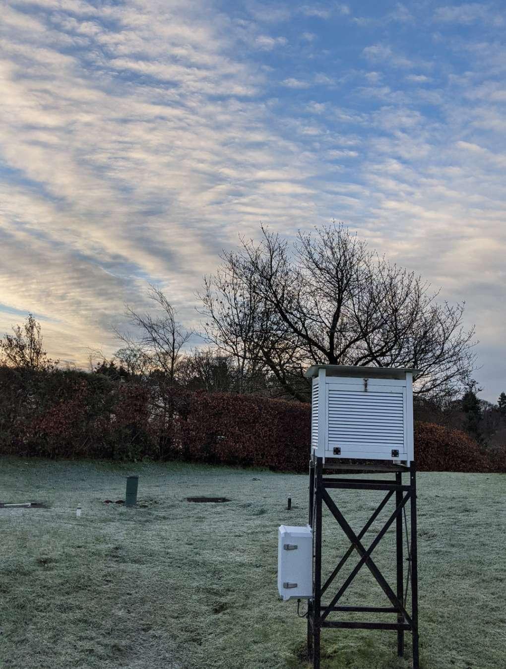 Sunrise Brampton, Cumbria,, sent by Cumbrian Snowman